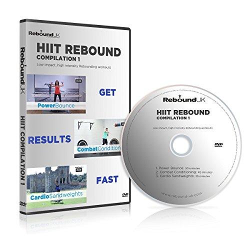 HIIT Rebounding Sammlung mit 3 High Energy Minitrampolin Workouts, die Ihre Fitness auf die nächste Stufe bringen, Fett verbrennen und Sie SCHNELL in Form bringen!