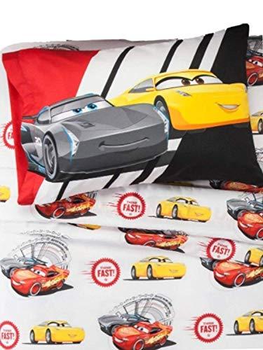 Disney Pixar Cars Lightning McQueen Twin Tabelle Set