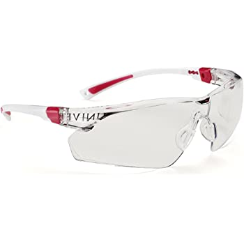 7fa4cb259a1 Univet 506 Ladies Safety Glasses Pink Frame Work Specs  Amazon.co.uk ...