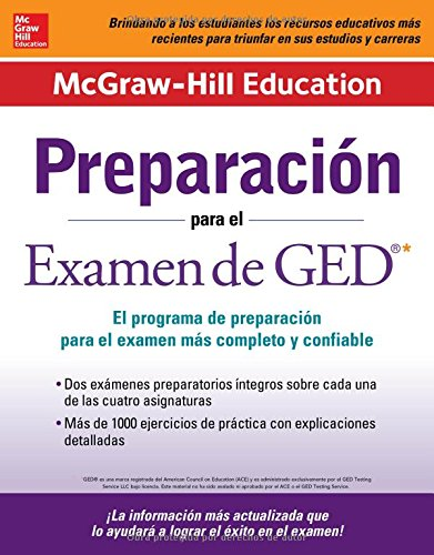 McGraw-Hill Education Preparación para el Examen de GED/ McGraw-Hill Education Preparation for the GED Test (Mcgraw-Hill Education Preparacion Para el Examen de GED)
