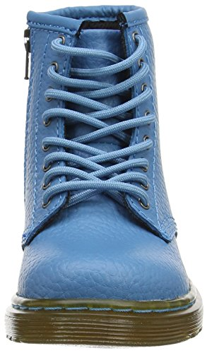 Dr. Martens Unisex-Kinder Brooklee Pbl Kurzschaft Stiefel Blau (Sky Blue Pebble Lamper)
