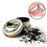 Teeth Whitening Powder, Holeider Natürliches Aktivkohle Zahnaufhellung Pulver Carbon Coco Organische Holzkohle Natürlich Zahn Polieren (A)