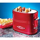 Smart Red Retro Pop-Up Hot Dog Toaster Party Appliance