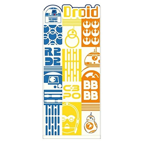 Marushin Star Wars Face Handtuch Chambre weiß Droid D2bb-8C-3PO