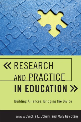 Research and Practice in Education: Building Alliances, Bridging the Divide (English Edition) -