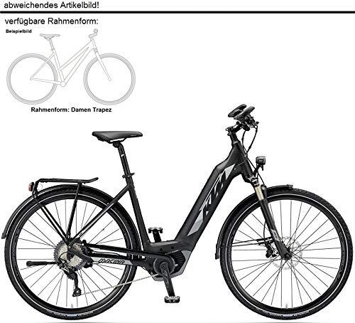 """KTM Macina Sport 11 CX5 Bosch Elektro Fahrrad 2019 (28\"""" Damen Trapez 51cm, Schwarz matt/Grau Damen)"""