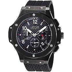 YPS Men Sport Silicone Strap Multifunction Dial Calendar Luminous Hands Quartz Wristwatch WTH5378