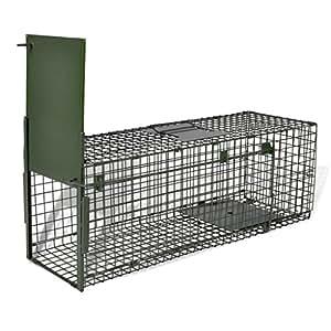 vidaXL Cage piège pour animaux une entrée anti rongeur
