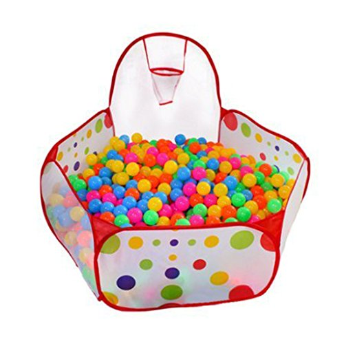 Imported Foldable Ocean Balls Pit Kids Indoor Outdoor Ball Shooting...