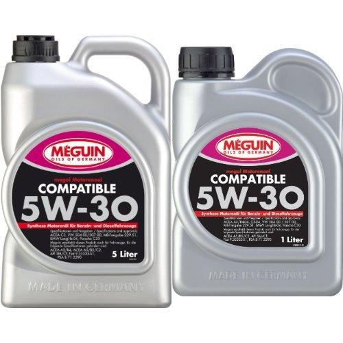 Preisvergleich Produktbild Meguin megol Motorenoel Compatible SAE 5W-30,  6 Liter (5L + 1L)