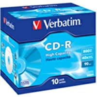 Verbatim 43428 - CD-R vírgenes (800 MB, 40x)