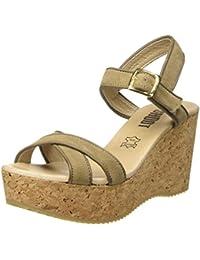 SHOOT Shoes Sh-160035 Damen Sommer Plateau Sandale Wedges - Sandalias Mujer