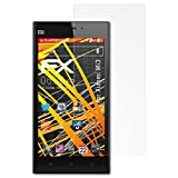 atFoliX Folie für Xiaomi Mi3 Displayschutzfolie - 3 x FX-Antireflex-HD hochauflösende entspiegelnde Schutzfolie