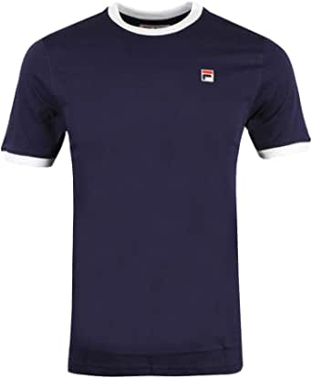 Fila Men's Marconi Essential Ringer T-Shirt, Blue