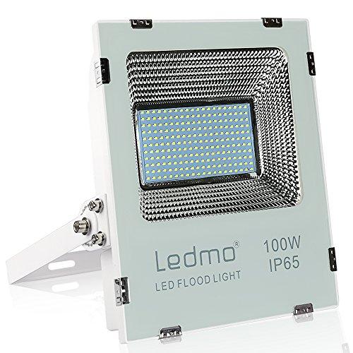 Faro led esterno 100w bianco freddo 6000K impermeabile IP65 faretto led da esterno 10000lm faretti led esterno AC200~240V