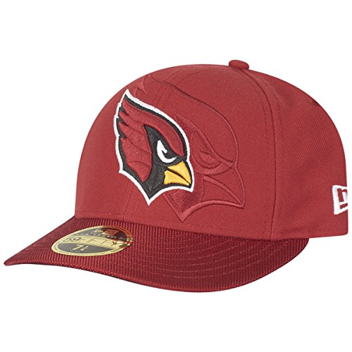 New Era 59Fifty LOW PROFILE Cap - SIDELINE Arizona Cardinals (Low-profile-hut Der Männer)
