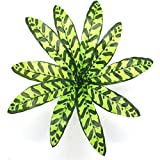 Vi.yo künstliche Blätter, Kunststoff, Blätter, für Hochzeit, Party, Garten-Dekoration