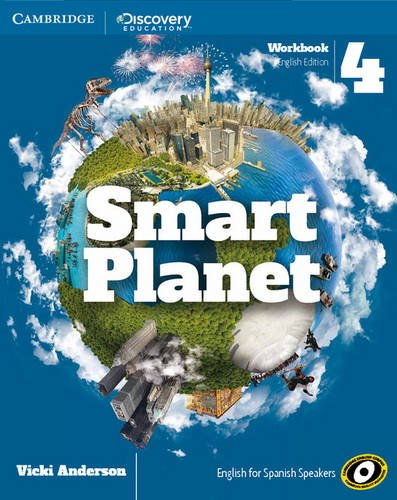 Smart Planet Level 4 Workbook English - 9788490367810 por Vicki Anderson