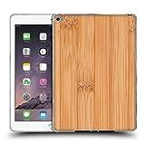 Head Case Designs Offizielle PLdesign Bamboo Helles Braun Holz Und Rost Drucke Soft Gel Hülle für iPad Air 2 (2014)