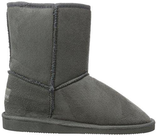 Canadians Boots, Bottes mi-hauteur avec doublure chaude femme Gris - Grau (250 DK. GREY)