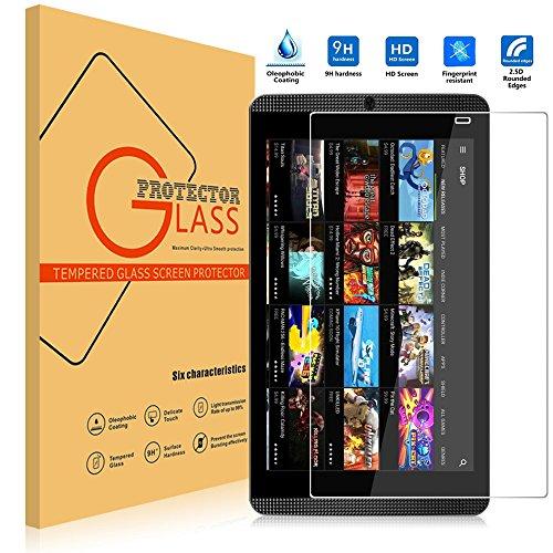 NVIDIA SHIELD Tablet K1 Pellicola Vetro Temperato per NVIDIA SHIELD K1 Tempered Glass Screen Protector,Vikoo Durezza 9H Antirottura Pellicola Schermo HD Flim per NVIDIA SHIELD Tablet K1 Flim Protection