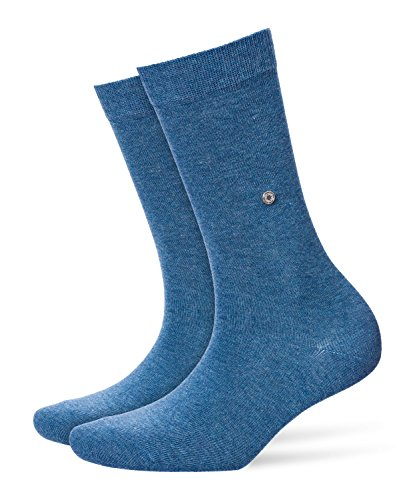 Burlington Damen Strick Socken Lady, Gr. 36/41, Blau (light denim 6660)