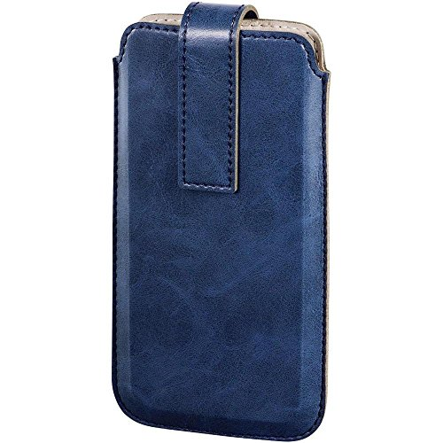 Hama Slide Sleeve, Innenmaß (B x H x T): 82 x 143 x 12 mm Universal Blau (Slide Smartphone)