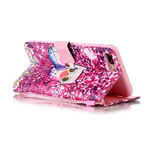 MightyCase Main corde Magnétique PU Housse avec le compartiment carte Slots & Cash, Stand Etui portefeuille Portefeuille Coquille Avec Stand Fonction, Magnétique Flip Coque Étui Cover Pour Apple iPhon Color#12