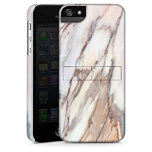 Apple iPhone X Silikon Hülle Case Schutzhülle Marmor Marble Look Muster Premium Case StandUp
