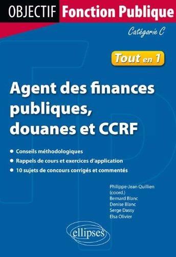 Agent des Finances Publiques Douanes et CCRF Catgorie C