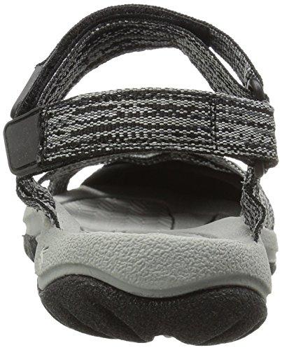 Keen Bali Strap Women's Sandaloii Da Passeggio - SS17 grigio nero mélange