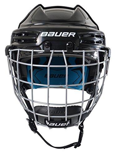 Bauer Kinder Eishockeyhelm nit Schutzgitter PRODIGY-Serie für Kids Helm Eishockey, blau, one Size