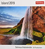 Island - Kalender 2019: Sehnsuchtskalender, 53 Postkarten - Olaf Krüger