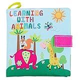 TOOGOO Morbidi giocattoli del bambino del libro del panno primi giocattoli educativi neonati per 0-36 mesi neonati # 4