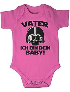 Mikalino Babybody Kurzarm Vater - Ich Bin Dein Baby!