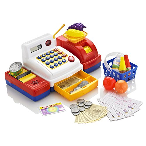 KiddyPlay Deluxe Electronic Cash Register Set