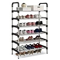 UDEAR Shoe Rack Shoe Storage Organizer Black ...