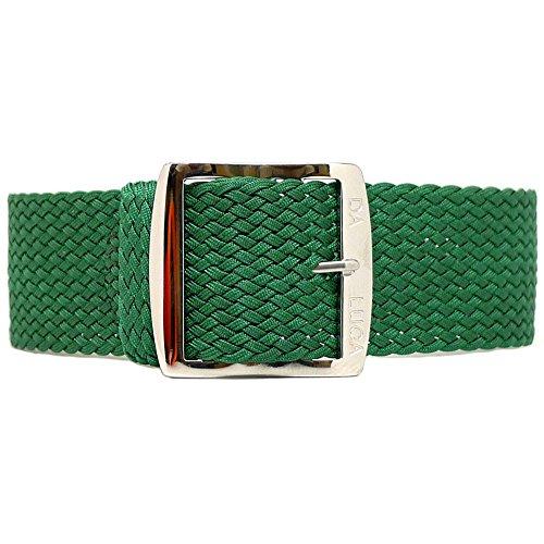 Daluca Perlon, colore verde (in movimento): 20mm