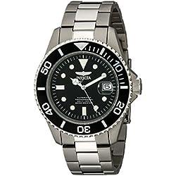 Invicta 0420 - Reloj para hombre color plata