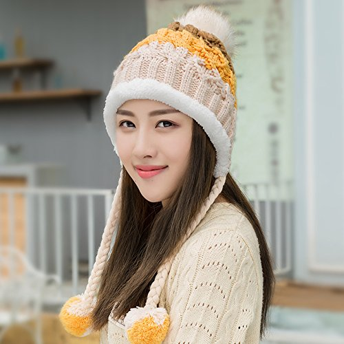 YangR Winter Caps children tide Korea warm winter lovely knitting ... 8a460e3e1445