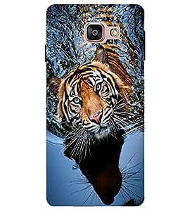 Citydreamz Tiger\Animal\Wild\Jungle Hard Polycarbonate Designer Back Case Cover For Samsung Galaxy A7 2016 Edition