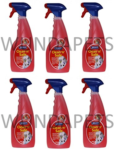 johnsons-clean-n-safe-cage-bird-budgie-parrot-disinfectant-cleaner-6-pack-3l-y72