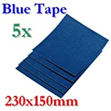 BlueTape Druckbett Klebe-Blatt 230x150mm 5 Blatt