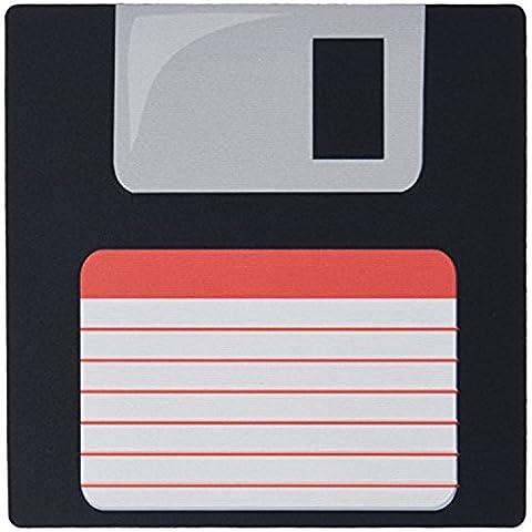 fongakde 22,9x 17,8x 0,6cm Mauspad Retro 90er Computer schwarz Floppy