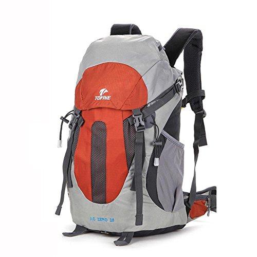 ALUK-arrampicata sospensione di corsa esterna borsa a tracolla traspirante spalle da trekking impermeabili piccolo zaino marrone rosso