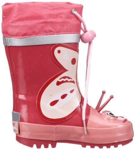 Playshoes 185742, Bottes fille Rose