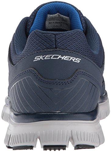 Skechers Da Uomo Flex Flex 1.0-zizzo Sneaker Blu (blu / Blu)