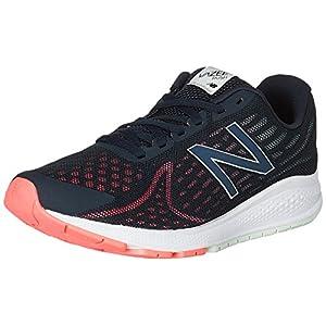 New Balance Women's Vazee Rush v2 Running Shoe, Black/Pink, 5 D US
