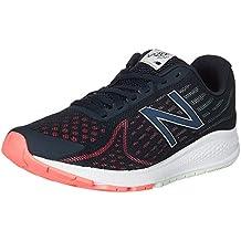 New Balance Herren Vazee Rush V2 Sneakers Schwarz/Gelb/Fuchsia 45 EU
