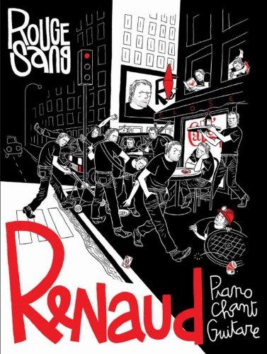 Renaud - Rouge sang - 24 titres + 2 bonus - Piano,...
